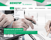 Benetip.sk - website for bussines auditing