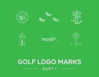 Golf Logo Marks Part 1