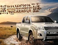 HILUX 2016 NICARAGUA