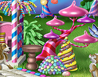 Candy Land Gazebo