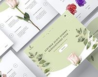 Flower Shop Website I PSD Template