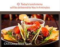 Ios App for Food Ordering
