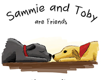Sammie and Toby - Children's Board Book