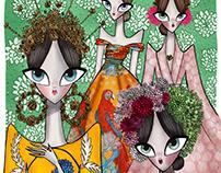 Dolce and Gabbana high fashion fall 2015