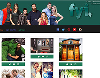 Tumblr Theme Design for FYI Network