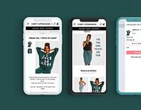 Webshop design & development | Comfy Copenhagen