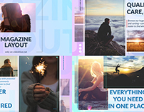 Magazine Layout - After Effects Template