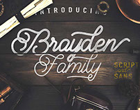 Brayden Family Typefaces