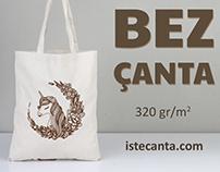 Kanvas Bez Çanta - Canvas Tote Bags