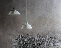 Cora & Lea / 3d printed hanging lamps / .ex-novo