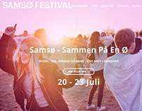 Samsø festival website