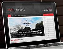 Kent-Minibuses - Wordpress Website