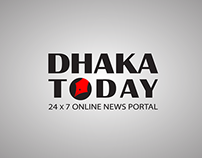 DHAKATODAY.COM | Brand identity