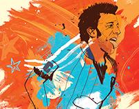 Eleven: Football Culture. Alessandro Del Piero portrait