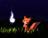 Robu the Fox and the Spirit