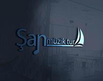Şan Müzik Tur Logo Tasarım