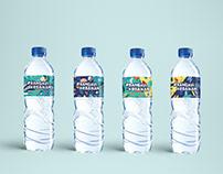 AQUA #rangkulkebaikan Bottle Label Design