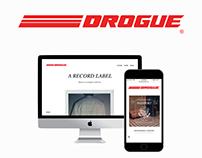 The Drogue Label - Web