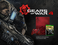 Xbox One Gears of War 4 Bundle