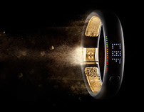 NIKE Fuel Band | CGI & Retouch