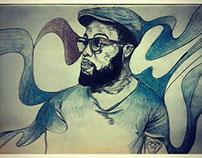 murphy hype portrait illustration