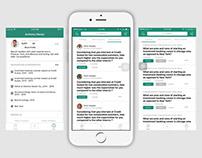 Meryt - Q&A platform (iOS App)