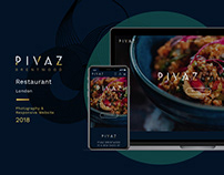 Pivaz Brentwood - Website Design
