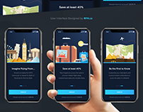 Travel Apps Onboarding Concept