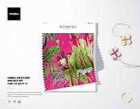 Fabric Swatches Mockup Set (05FFv.11)
