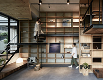 SOAR Design Studio Life in Tree House