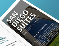 San Diego Suítes - Folder