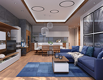 Sochi Apartment_03, 3D Interior Visualization