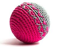 Crochet toys. Cotton