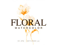 Free DEMO Floral Watercolor Collection
