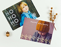 Paper Culture holiday cards (2015-2016)