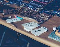 Curiô - Visual Identity and Textile Design
