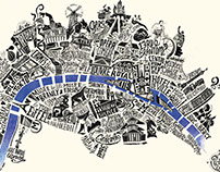 Typographic Map of Paris