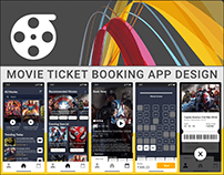 MOVIE TICKET BOOKING APP DESIGN