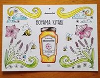 Anavarza Bal - Boyama Kitabı / Coloring Book