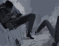 lazy sketch