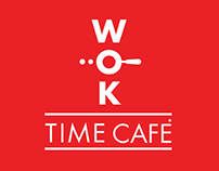 WOK TIME CAFE BRANDING
