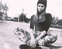 Lion D'Sign Leggings - Skatepark photo session