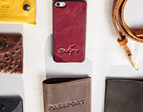 Pilkin's handcrafted leather products