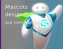 Character design, mascots & tokens