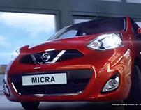 Nissan Micra CVT - Campaign - Television + Print