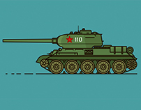 Soviet military machinery of the Second World War