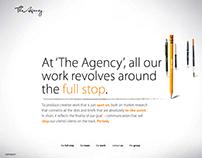 WEBSITE Storyboard v. 2 : The Agency
