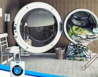 Kenmore. 74-liter flushing capacity!