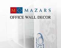 MAZARS OFFICE WALL DECORATION