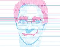 Popular Science magazine - portrait illustration